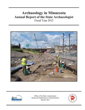 2012ArchaeologyAnnualReport cover web OSA Annual Report