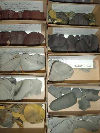 lithic samples w Lithics