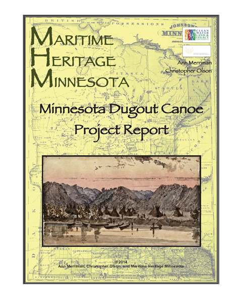 MDCProjectReportcover Minnesota Dugout Canoe Project