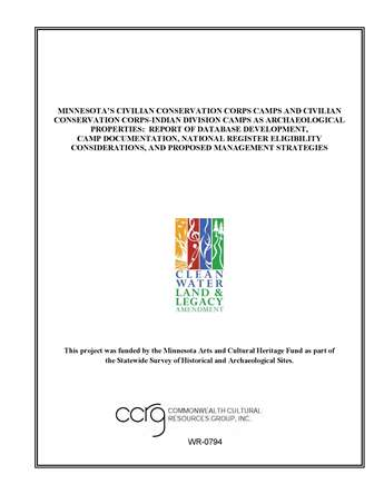 CCC report Legacy Project Reports